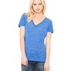 Ladies'  4.2 oz. Jersey Deep V-Neck T-Shirt