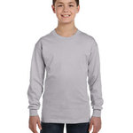 Youth  5.3 oz. Heavy Cotton Long-Sleeve T-Shirt