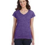 Ladies'  4.5 oz. SoftStyle Junior Fit V-Neck T-Shirt - Value DTG