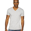 Men's Premium Fitted Cotton Short-Sleeve V
