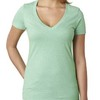 Ladies' CVC Deep V