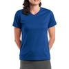 SP- Sport Tek Dri Mesh® Ladies V Neck T Shirt