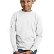 Youth Tagless ® 100% Cotton Long Sleeve T Shirt