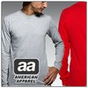 SP- American Apparel Fine Jersey Long Sleeve T-Shirt