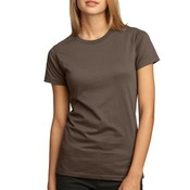 Junior Ladies 100% Organic Cotton Perfect Weight Tee