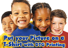print your favorite photo on a t-shirt