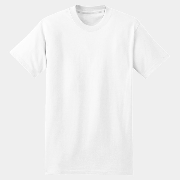 9a521a950 Hanes Beefy T- 100% Cotton T Shirt - World Famous Fast Full Color T ...