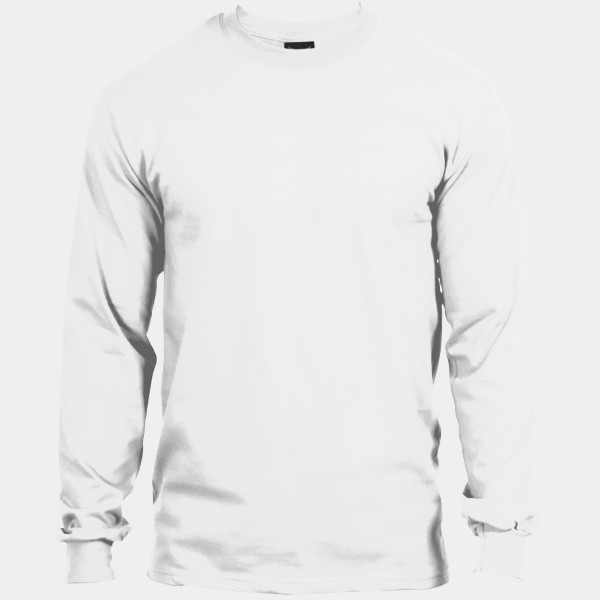 9344afd2d SP- Hanes Beefy T ® 100% Cotton Long Sleeve T Shirt Fast Full Color ...