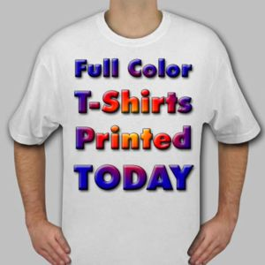 Ship TODAY Full Color T-Shirts- Gildan 5000 Thumbnail