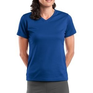 Dri Mesh® Ladies V Neck T Shirt Thumbnail