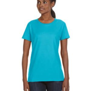 Ladies' Ringspun Midweight Mid-Scoop T-Shirt Thumbnail