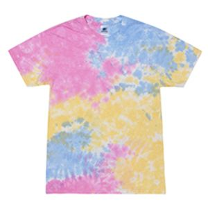 5.4 oz., 100% Cotton Tie-Dyed T-Shirt Thumbnail