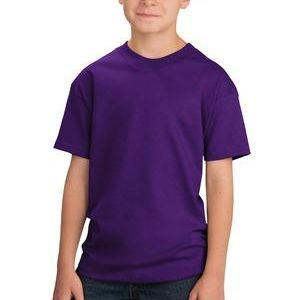 SP- Port & Co. Youth 5.5 oz 100% Cotton T Shirt Thumbnail