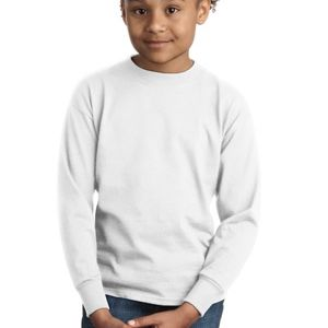 SP- Hanes Youth Tagless ® 100% Cotton Long Sleeve T Shirt Thumbnail