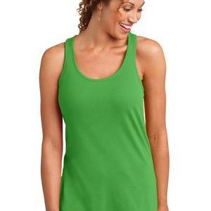 SP- District ™ Ladies Solid Gathered Racerback Tank Thumbnail
