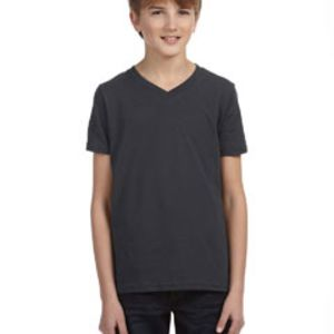 SP- Bella Youth Jersey Short-Sleeve V-Neck T-Shirt Thumbnail