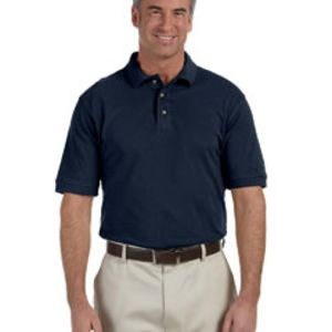SP- Harriton Tall 6 oz. Ringspun Cotton Piqué Short-Sleeve Polo Thumbnail