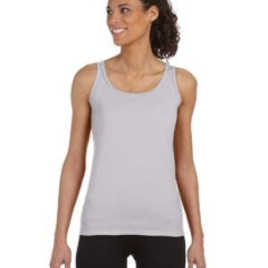 Ladies'  4.5 oz. SoftStyle Junior Fit Tank Top Thumbnail