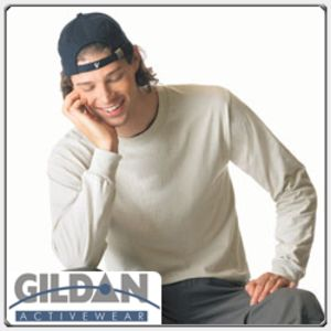 Gildan 2400 Ultra Cotton 100% Cotton Long Sleeve T Shirt Thumbnail