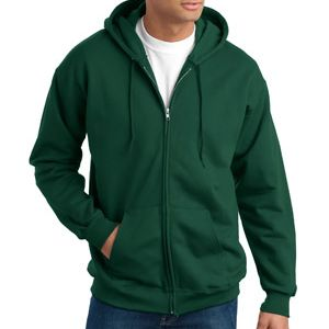 Hanes F283 Ultimate Cotton Full Zip Hooded Sweatshirt Thumbnail