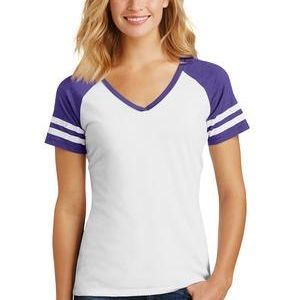 Ladies Game V Neck Tee Thumbnail