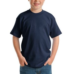 Youth ComfortSoft ® Heavyweight 100% Cotton T Shirt Thumbnail