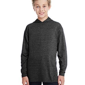 Youth Long-Sleeve Hooded T-Shirt Thumbnail