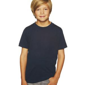 Boy's Short-Sleeved Cotton Crew Shirt Thumbnail